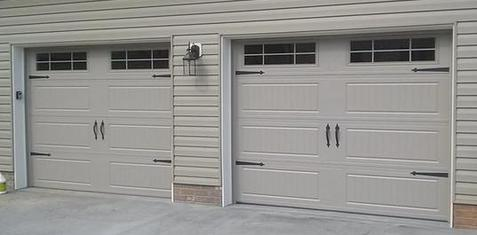 Carriage Style Garage Doors / Energy Efficient Steel Garage Doors on magnetic faux carriage door hardware, garage door carriage doors, decorative door hardware,